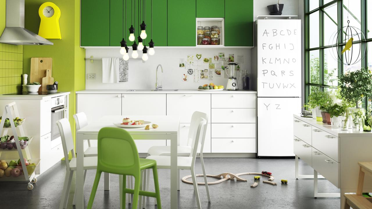 Soon, we may well be saying goodbye to the kitchen, in favour of a more communal space. Picture: Ikea.