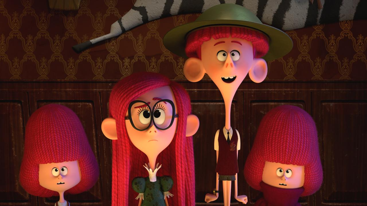 The Willoughbys has an all-star voice cast. Picture: Netflix via AP