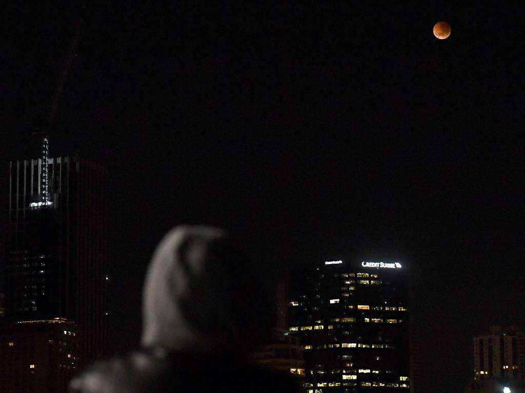 The Super Blood Moon will take place on May 26 and an astrologer has warned we need to be very mindful of our emotions. Picture: Joel Carrett