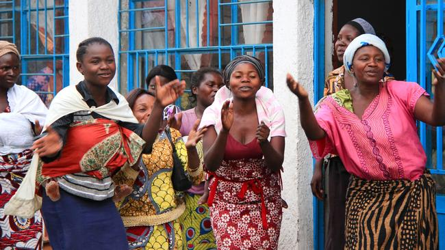 Caritas Australia has established listening houses in the Democratic Republic of Congo to allow victims of rape to share their stories.