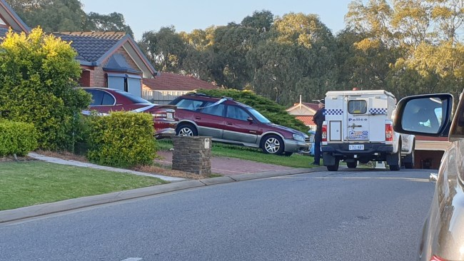 A man has been injured after an explosion at his southern suburbs home. Picture: Elizabeth Henson