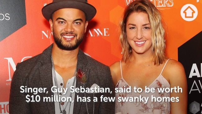 Inside Guy Sebastian's property profile