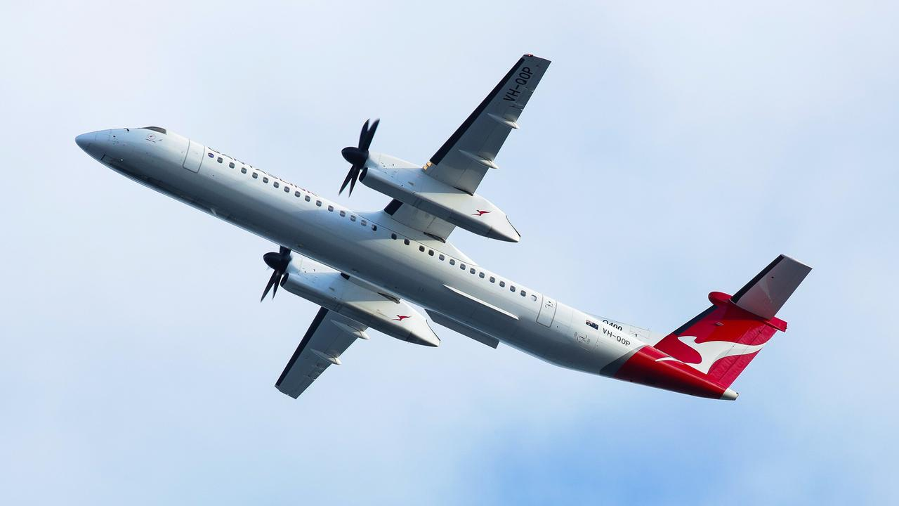 Qantas has stood down 2500 domestic workers. Picture: NCA NewsWire / Gaye Gerard