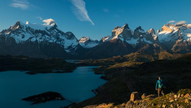 7/29Hike in Torres del Paine National Park, Patagonia - Chile and Argentina Desolate, extreme and breathtakingly wild, this region of Patagonia is like nowhere else on earth.