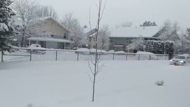 Drivers Urged to Slow Down as Heavy Snowfall Blankets Montana