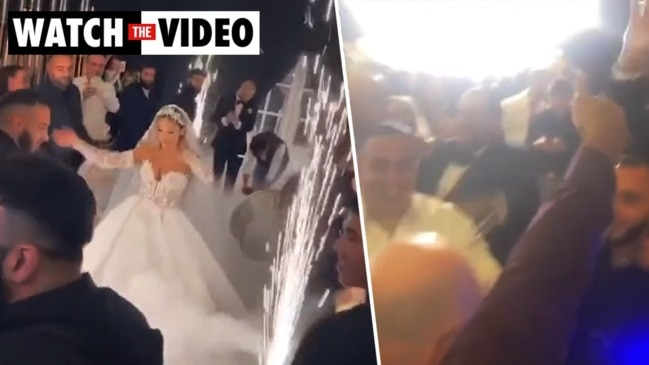 More footage emerges from wild Sydney wedding