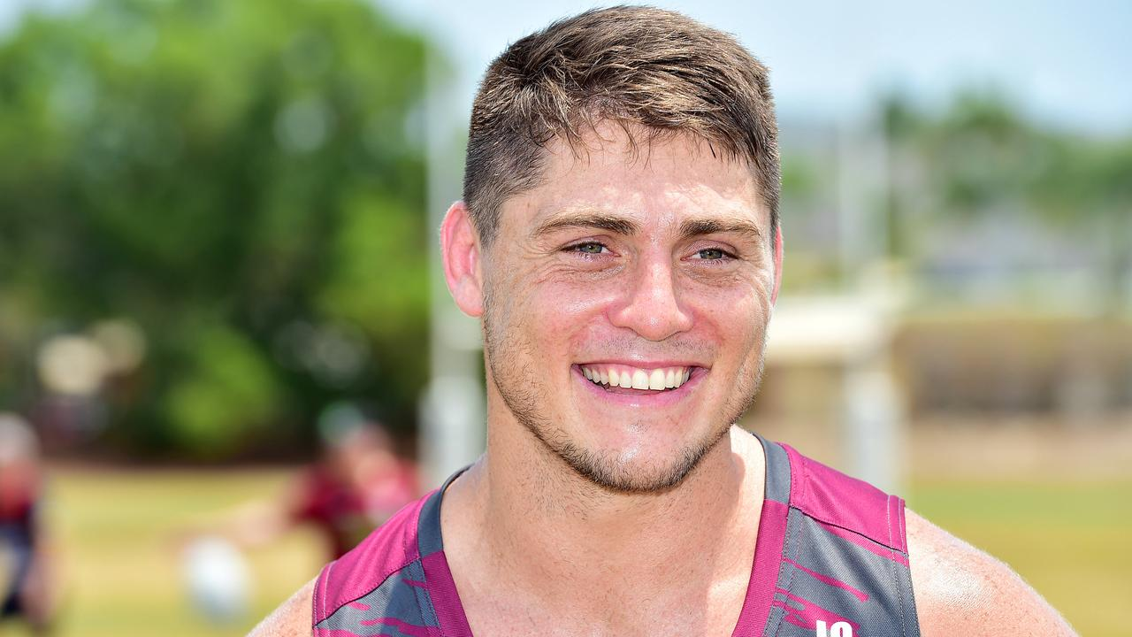 Reds star James O'Connor in Townsville. Picture: Shae Beplate