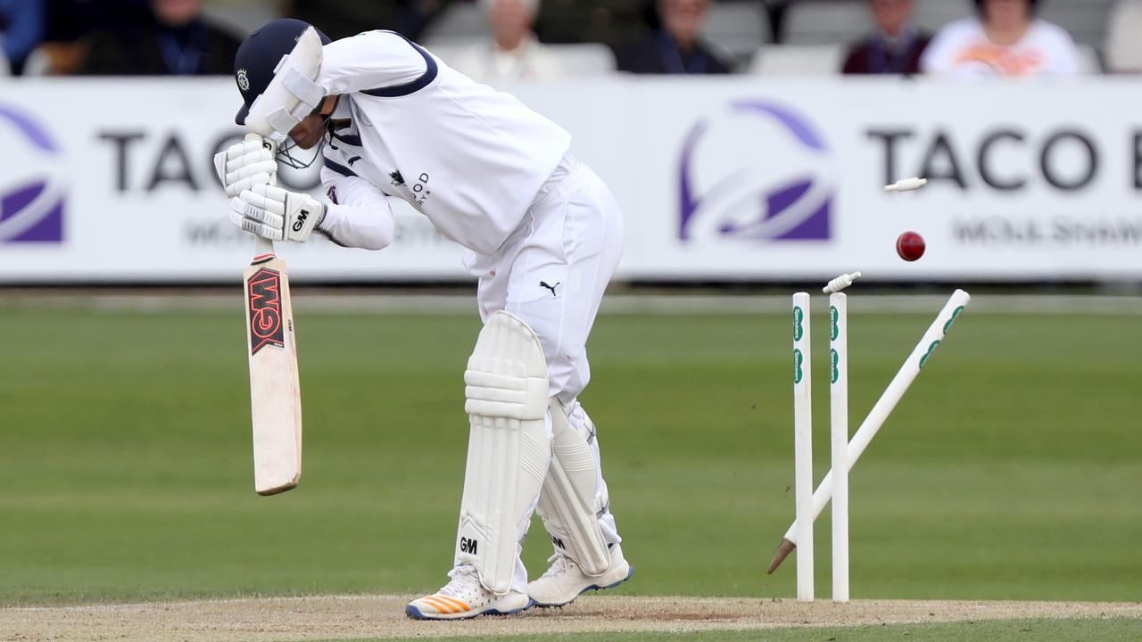 That's not a wicket, it's an out. (Photo by Nick Wood/Getty Images)
