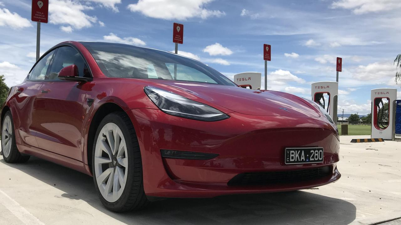 Tesla is opening its vast network of superchargers to other electric cars.