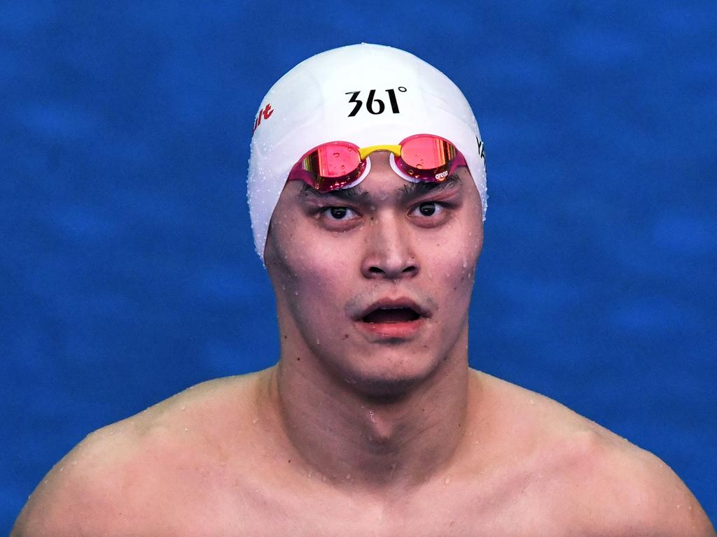 China's Sun Yang will appeal the decision. Picture: Ed JONES / AFP.
