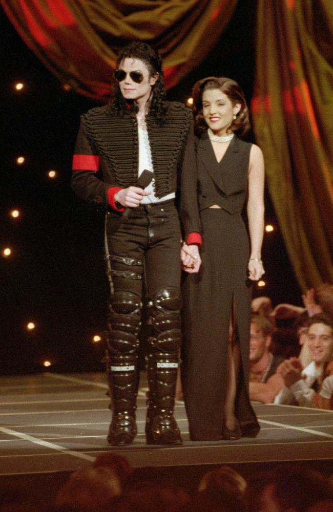 Their public debut: At the MTV Awards in September 1994. Picture: AP
