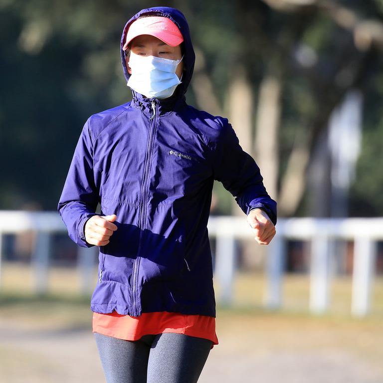 Getting outside for a walk can be hugely beneficial to your health in lockdown. Picture: Christian Gilles/NCA NewsWire