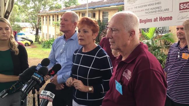 """It's pathetic"": Hanson unloads on Leyonhjelm, Hanson-Young stoush"