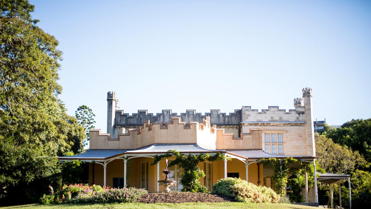 Vaucluse House is one of Sydney's few 19th-century mansions still surrounded by its original gardens and wooded grounds. Picture: James Horan for Sydney Living Museums