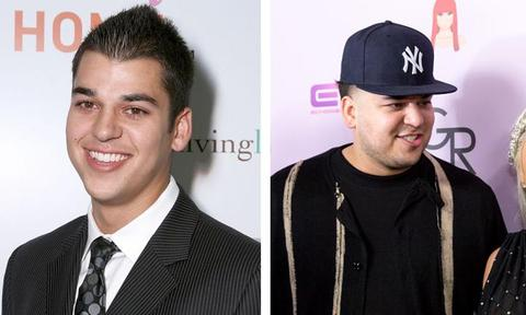 ROB KARDASHIAN  <p>The life and times of Rob Kardashian have become increasingly turbulent. He's grown from being a flakey playboy to being the on-again, off-again partner of Blac Chyna. </p>  <p>He's attempted to launch a 'sock empire', his weight has yo-yoed all over the place, and he's welcomed baby daughter Dream into the world.</p>