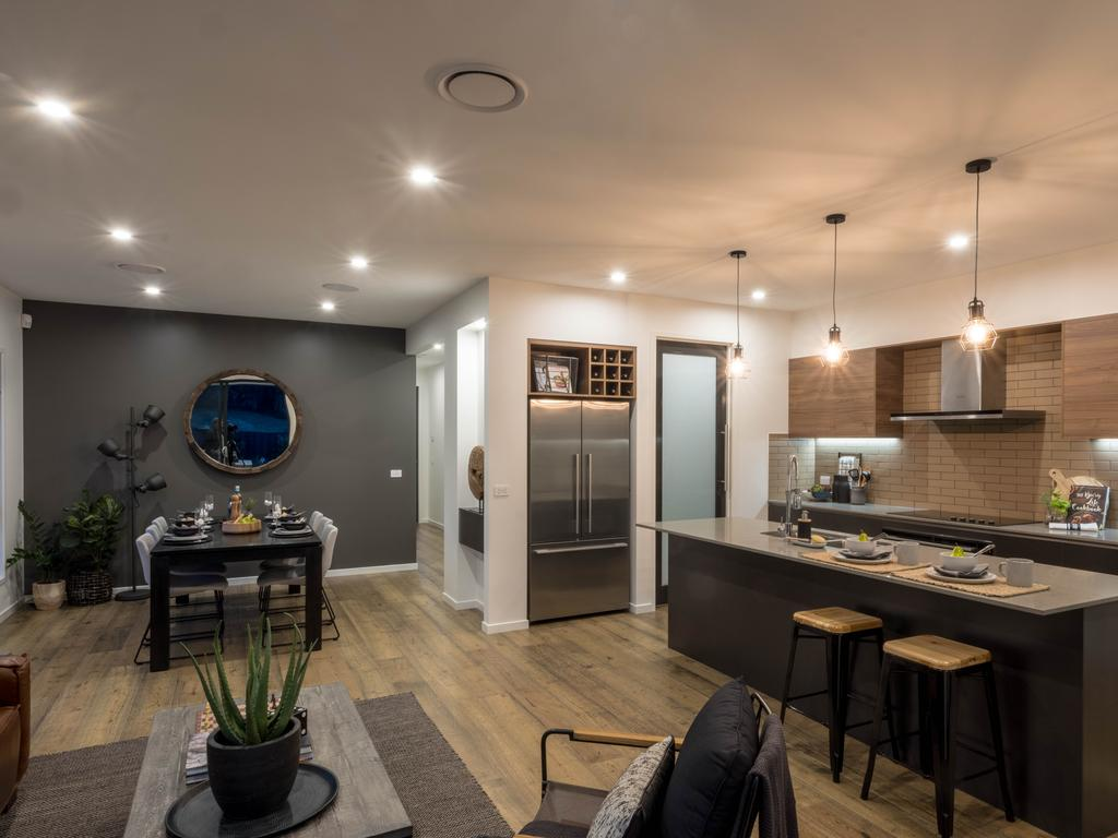 Albany display home living zone.