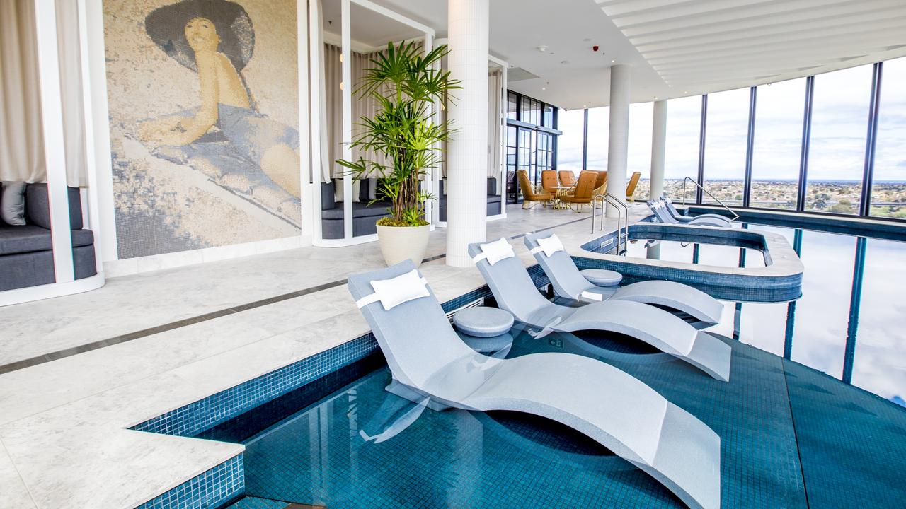 Indoor rooftop pool - you bet. Picture: Accor Hotels
