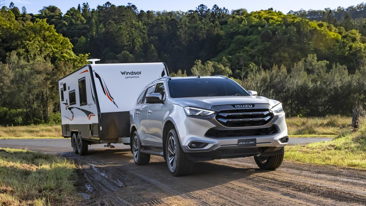 It can tow up to 3500kg.