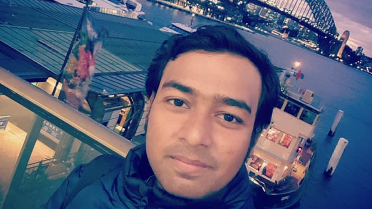 Uber Eats deliverer Bijoy Paul, 27, died after being hit by a car in Rockdale on Saturday morning.