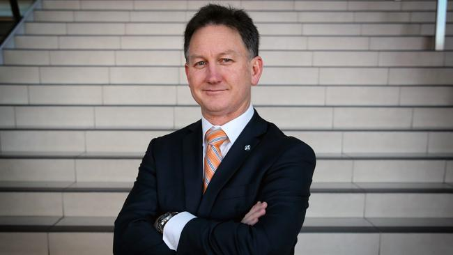 AMA president Dr Michael Gannon has been fighting a six-year government freeze on Medicare rebates to doctors.