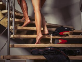 Is visiting an escort 'cheating'? Image: iStock