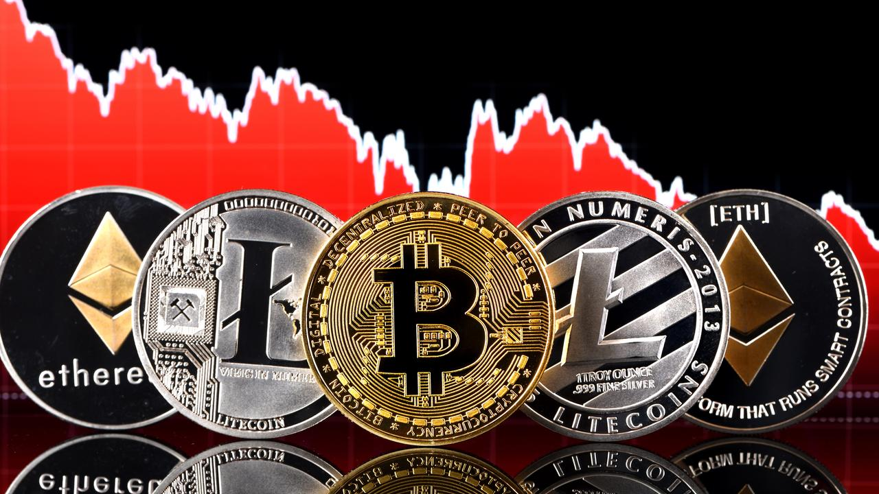 Bitcoin, Litecoin and Ethereum are popular cryptocurrencies. Picture: The Daily Telegraph
