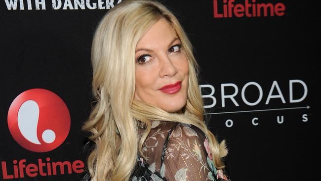 The IRS has reportedly drained Tori Spelling's bank accounts. Picture: Brad Barket/Getty Images