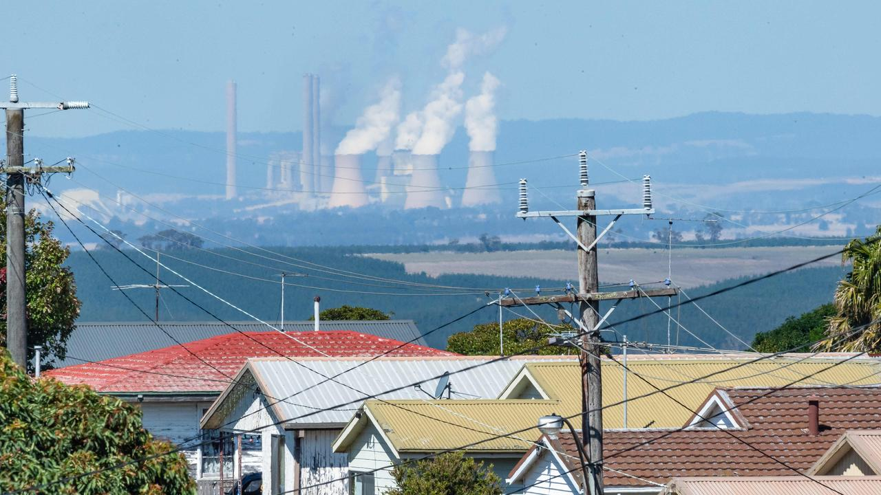 EnergyAustralia's Yallourn coal plant in Victoria is to close four years early. Picture: Jason Edwards