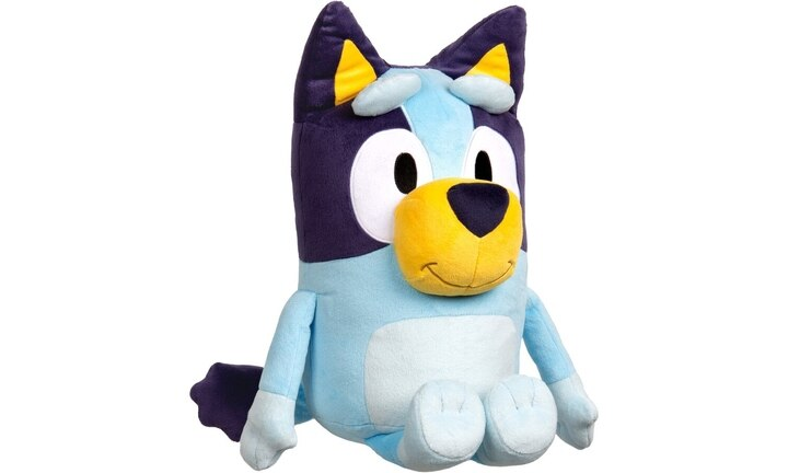 <b>BEST MATE BLUEY PLUSH TOY.</b>  Cheese and crackers! For just $35 dollar bucks you can have your very own best Blue Heeler mate to hug and love.