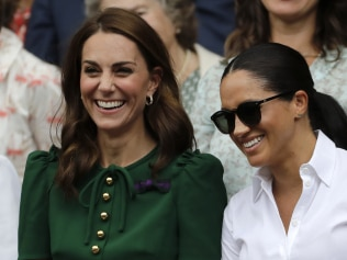 Kate and Meghan, friends again?  Image: AP Photo/Ben Curtis