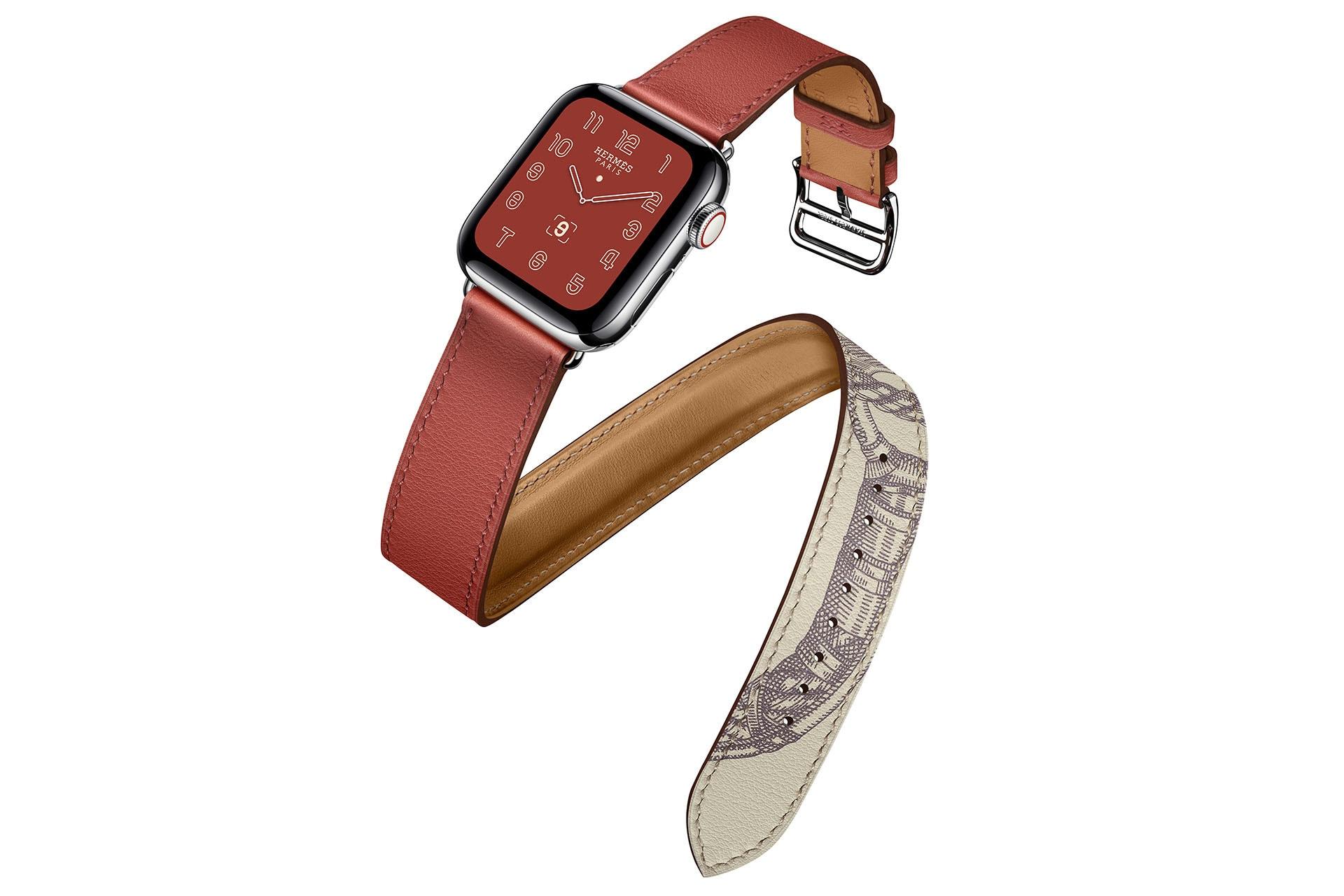 Apple Watch Hermès series 5. Image credit: supplied