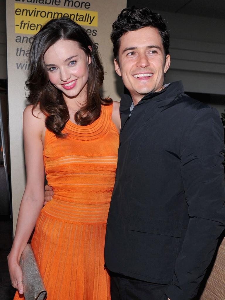 Bloom and Miranda Kerr. Picture: Getty