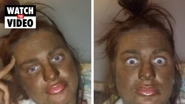 TikTok user Jodie Morris shares her hilarious attempt at a fake tan