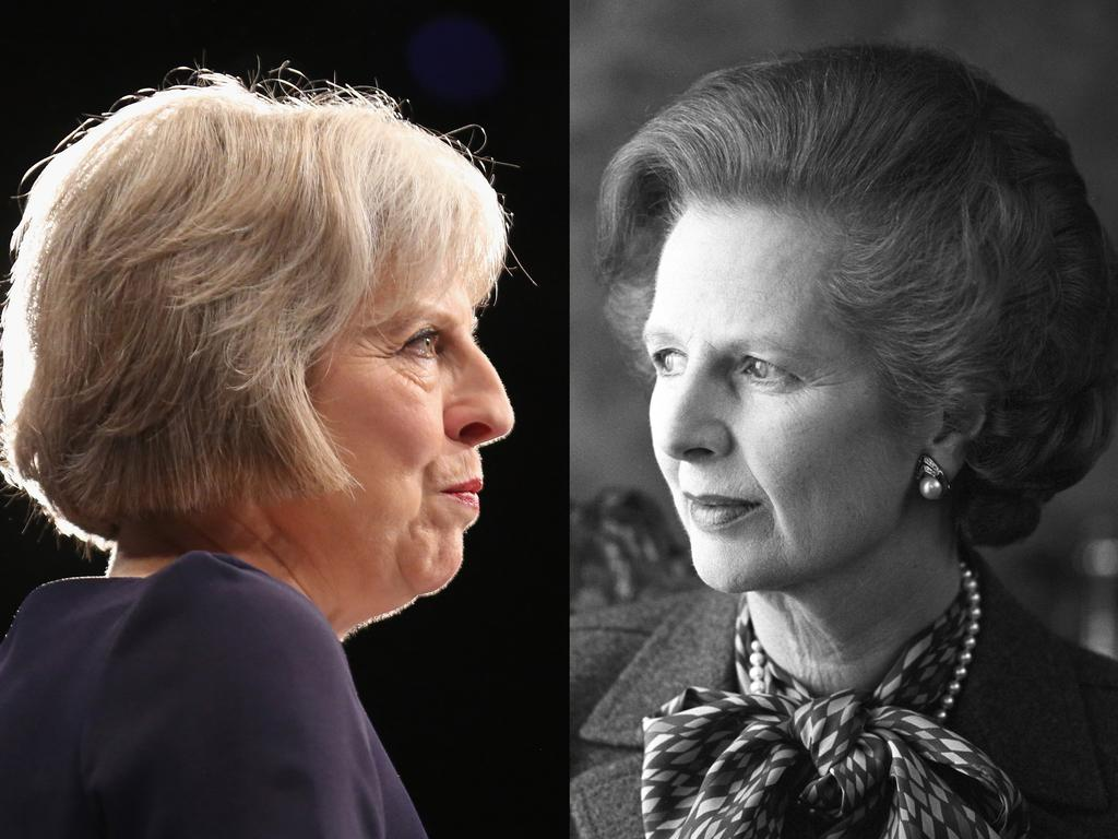 Joe Biden also mixed up Theresa May and Margaret Thatcher. Picture: Getty