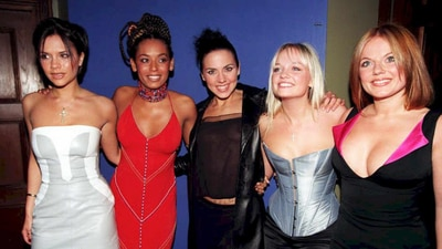 Shock footage shows Posh Spice weighed on TV after having baby