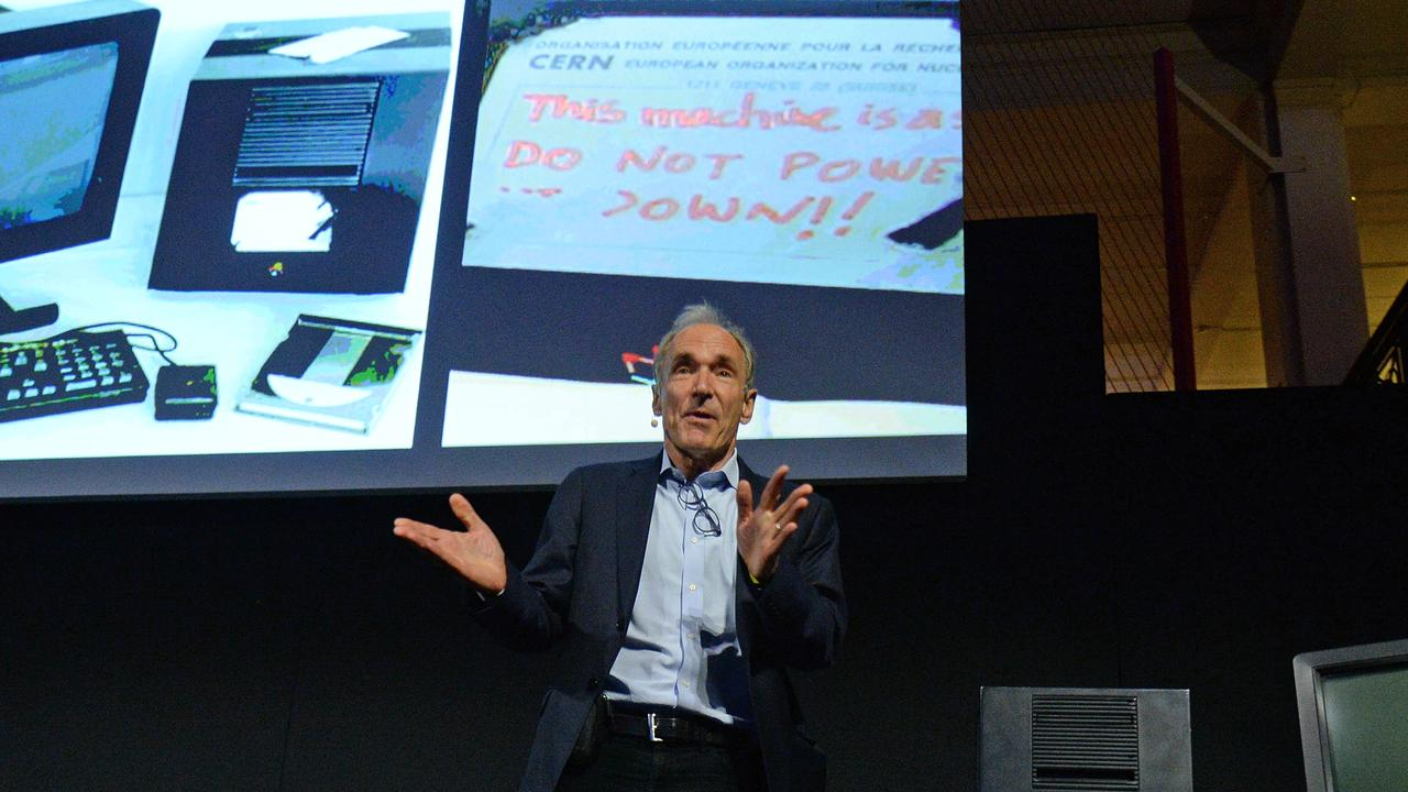 Sir Tim Berners Lee celebrates the 30th Birthday of The World Wide Web in 2019. Picture: Eamonn M. McCormack/Getty Images
