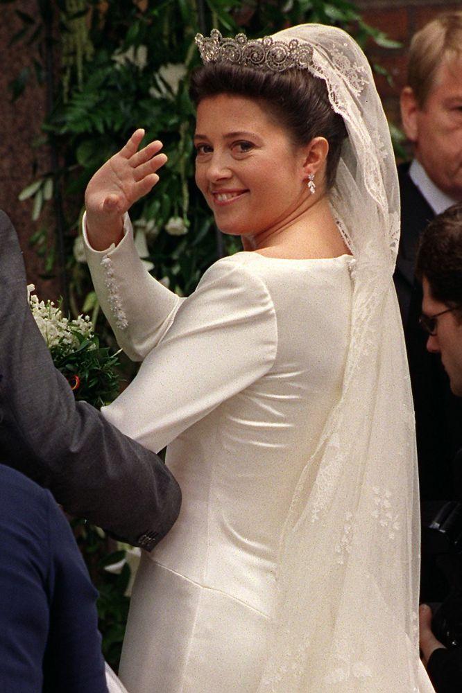 Inside Princess Alexia and Carlos Morales Quintana's 1999 wedding