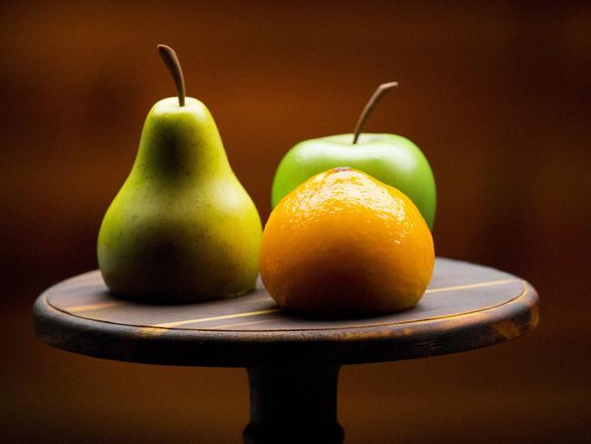 MasterChef — Kirsten Tibbals Trio of Fruits. Picture: Ten