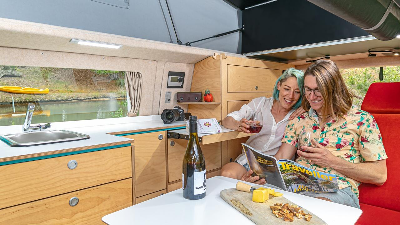 Achtung Camper. Ronny Probandt and Tania Differding. For gt magazine. Photo: Supplied