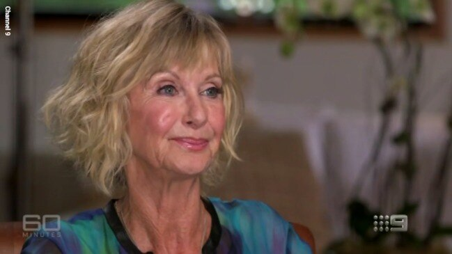 Olivia Newton-John reflects on her battle with cancer (Channel 9)