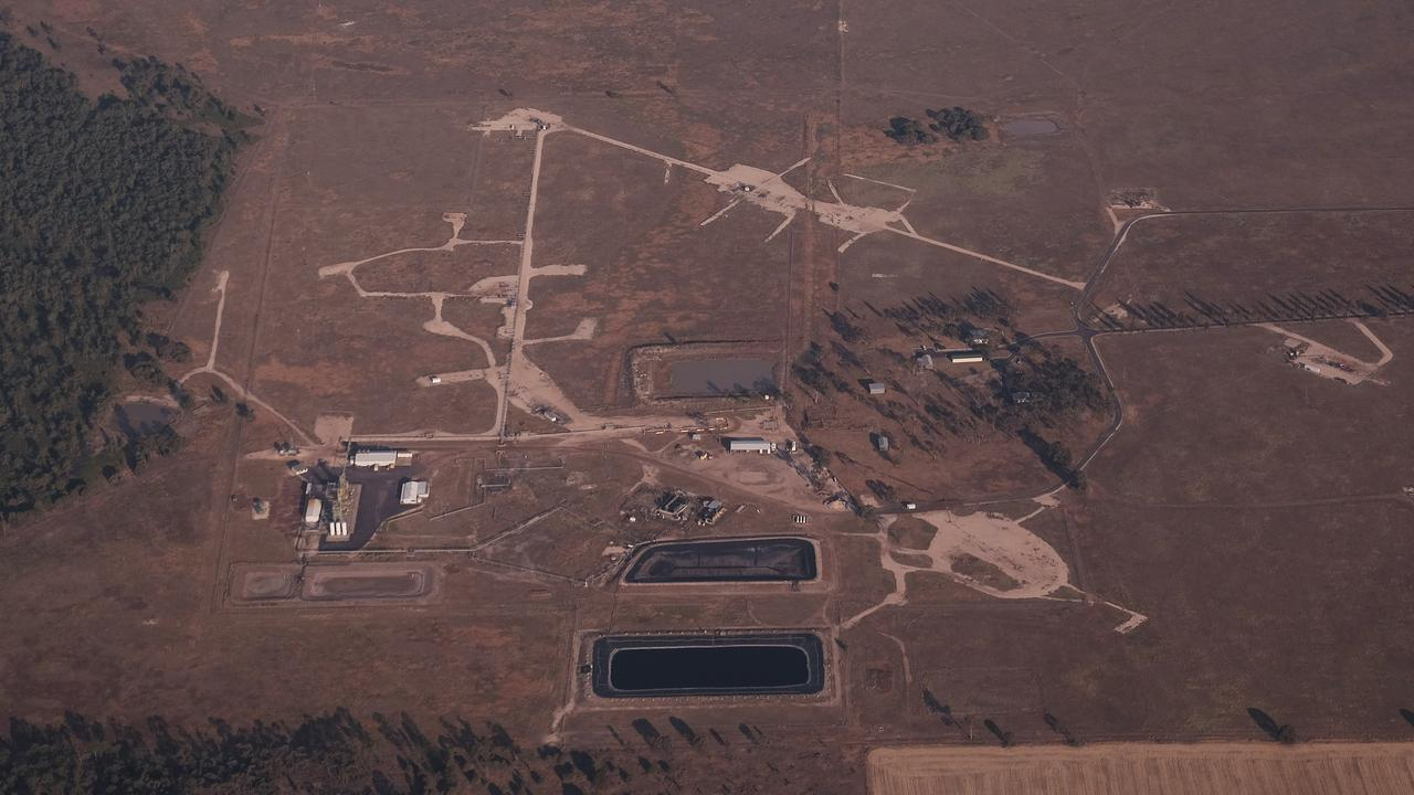 PRIME AG LAND: A view of the he Linc Energy Hopeland site form the air. Pic: Supplied