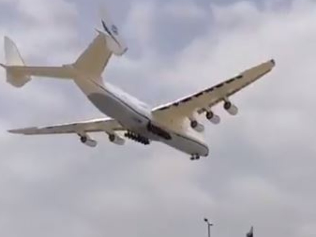 It is by far the largest and heaviest aircraft ever built
