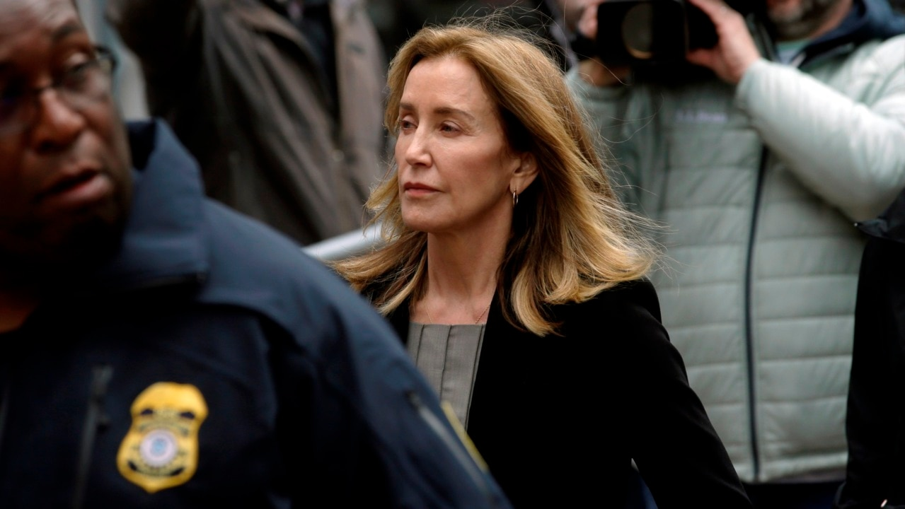 US actress Felicity Huffman jailed over college admissions scandal