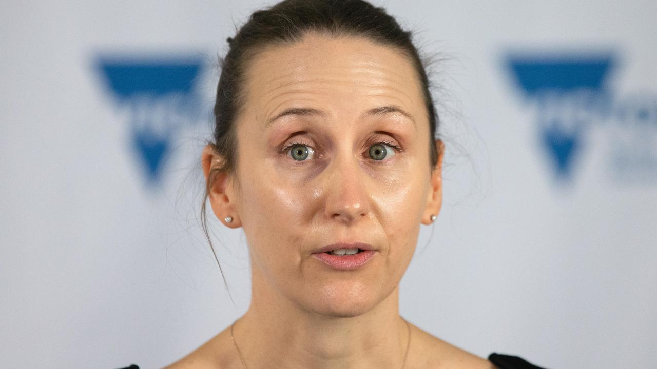 Victorian deputy Covid-19 commander Naomi Bromley said 25,000 vaccine bookings had been made by 9am. Picture: NCA NewsWire / Sarah Matray