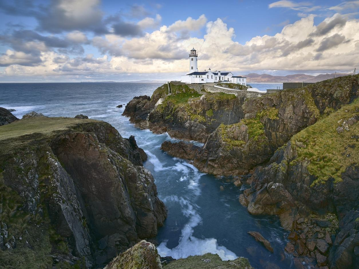 White Lighthouse, Fanad Head, County Donegal