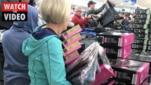 Aldi Snow Sale sends customers crazy