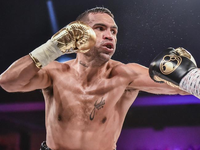 A small ring doesn't suit Mundine's fighting style.