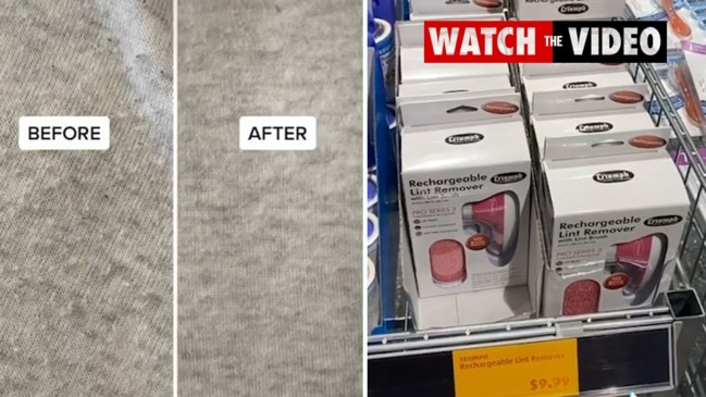 Shoppers excited over $10 Aldi lint roller