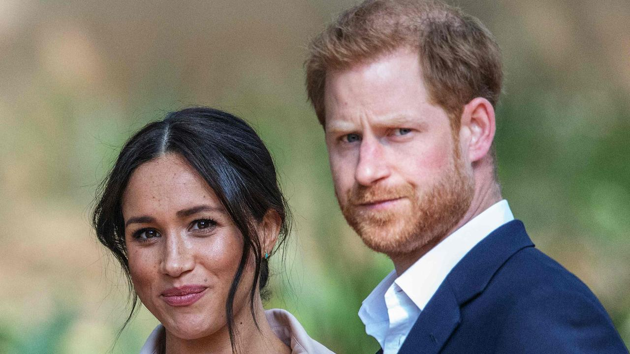 Haryr and Meghan. Picture: Michele Spatari/AFP