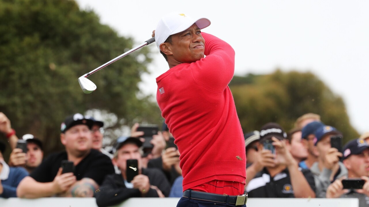 Tiger Woods recovering from emergency surgery